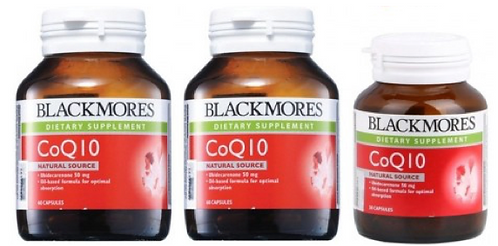 Blackmores CoQ10 50mg (2X60S+30S) | General Health