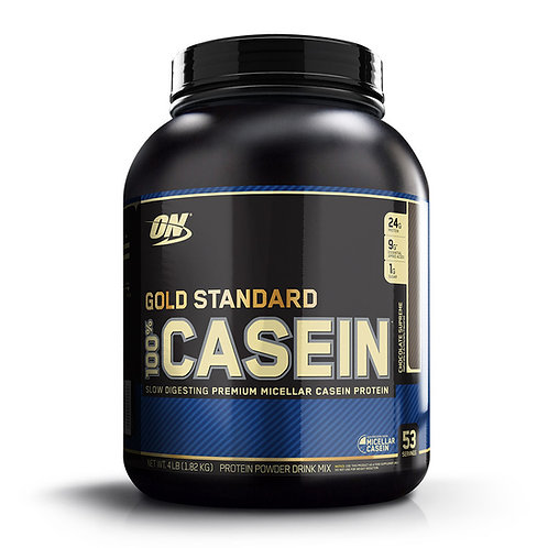 Optimum Nutrition 100% Gold Standard Casein Chocolate Supreme 4lbs - Product View