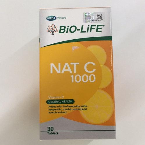 BiO-LiFE NAT C 1000mg Bioflavonoids (30S)