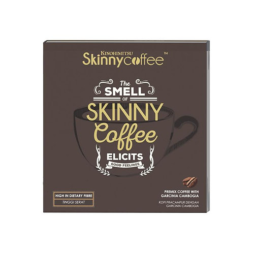 Kinohimitsu Skinny Coffee 20g x14's | Product View | Weight Management