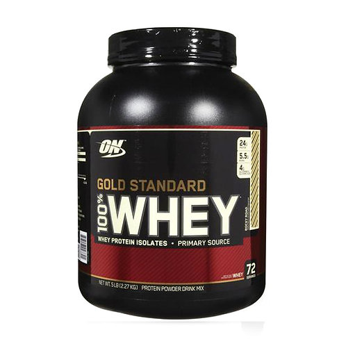 Optimum Nutrition 100% Whey Gold Standard Rocky Road (5lbs) - Product View