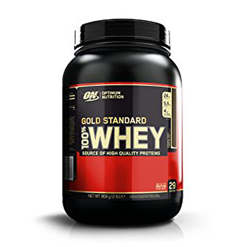 Optimum Nutrition 100% Whey Gold Standard Double Rich Chocolate (2lbs) - Product View