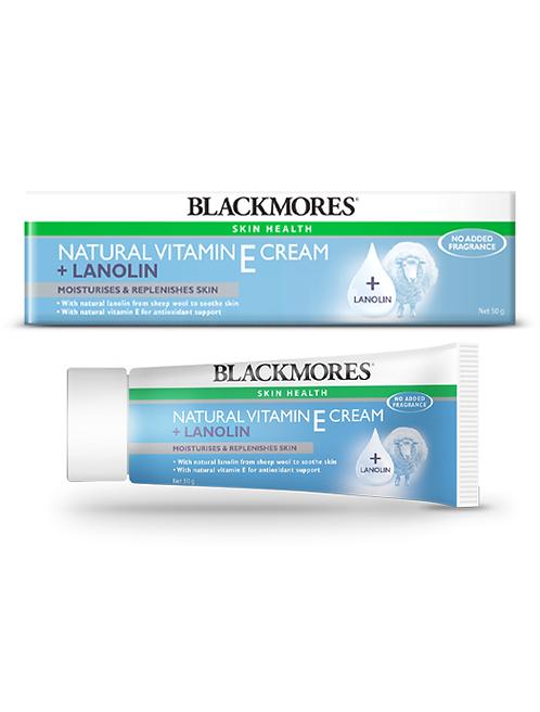 Blackmores Vitamin E Cream + Lanolin 50G
