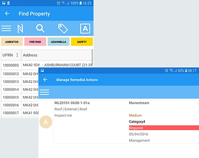 Action Manager App