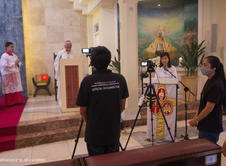 Archbishop pays tribute to livestream frontliners