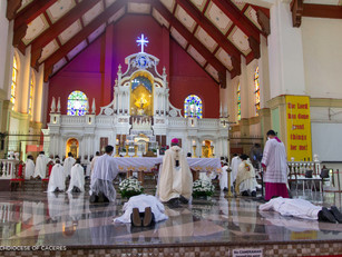 Two seminarians ordained Deacons