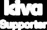 Kiva Supporter logo