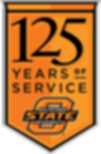 OSU 125 Years of Service mark