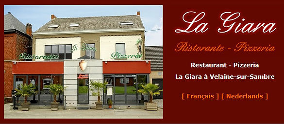 http://www.lagiara.be/    Les dimanches