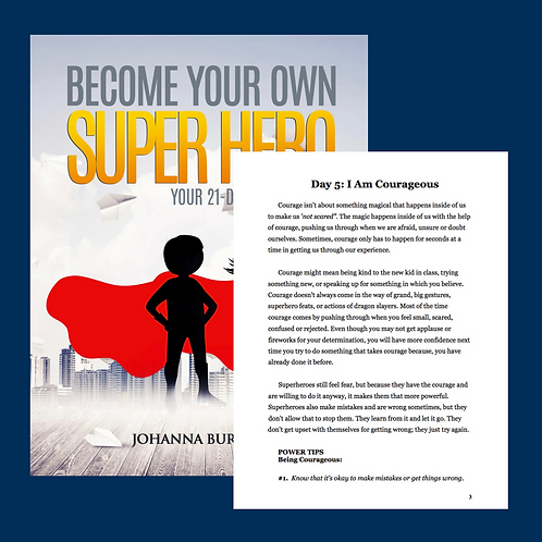 Printable Day 5 of Become your own Super Hero