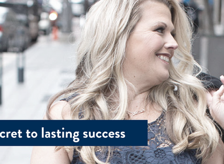 The Secret to lasting success. How to transcend your B.S. and discover lasting success.