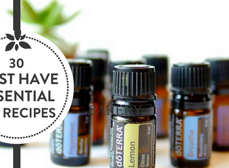 30 Must Have Essential Oil Recipes