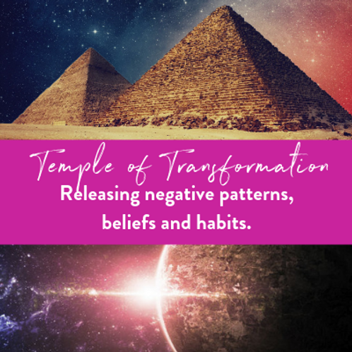 Release Negative Beliefs, Patterns & Programming in The Temple of Transformatio