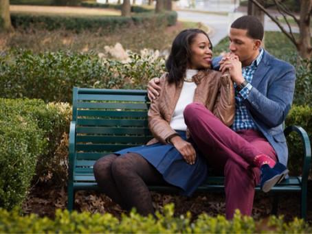 Amethyst & DeChino | COBB GALLERIA | ATLANTA WEDDING PHOTOGRAPHERS | ENGAGEMENT SESSIONS