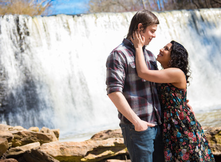 OLD ROSWELL MILL PARK | ATLANTA WEDDING PHOTOGRAPHERS | ENGAGEMENT SESSIONS