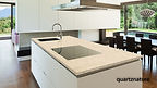 encimera beige galaxy quartznature