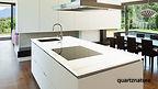 encimera blanco arenal quartznature