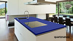 encimera countertop añil quartznature