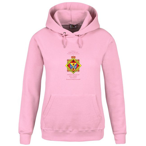 Art Fame District Hoodie rose femme