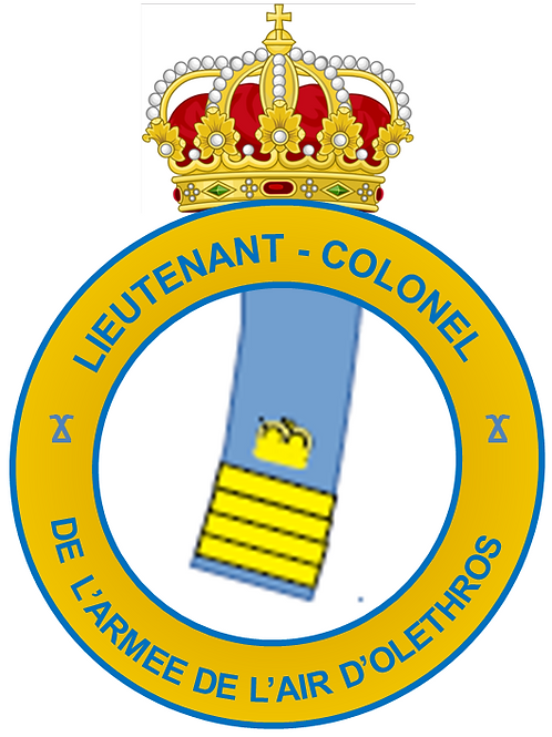 Grade de Lieutenant-Colonel (Air)