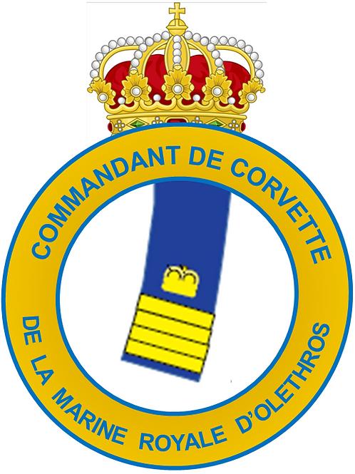 Grade de Commandant de Corvette Interarmées