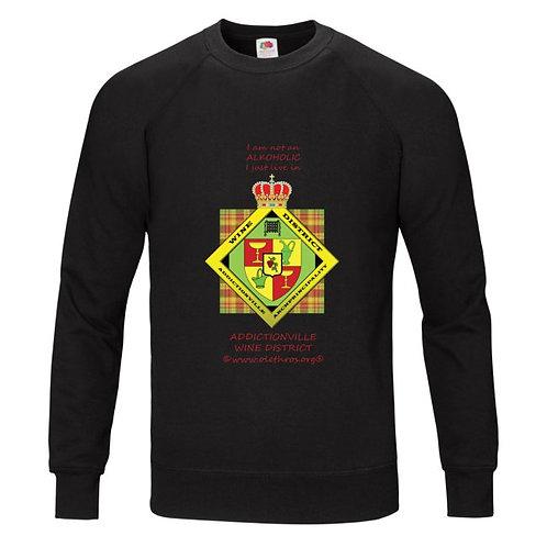 Wine District Sweat Shirt noir homme