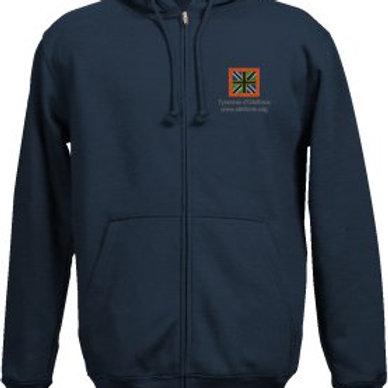 Sweat-Shirt bleu drapeau d'Olethros pour homme