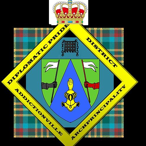 Diplôme Diplomatic Pride District Citizenship