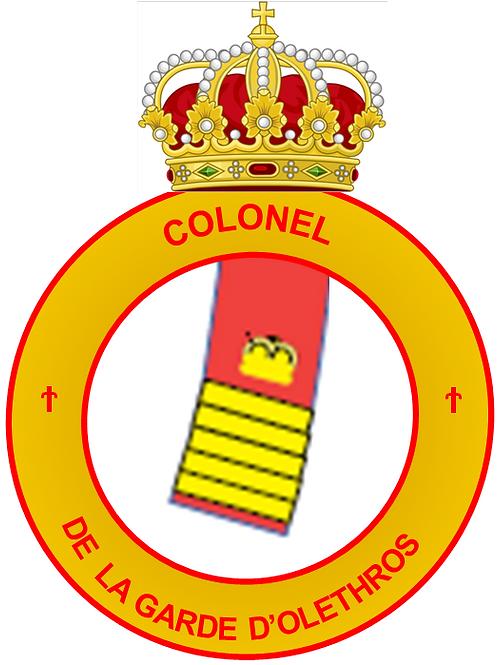 Grade de Colonel de la Garde Interarmée