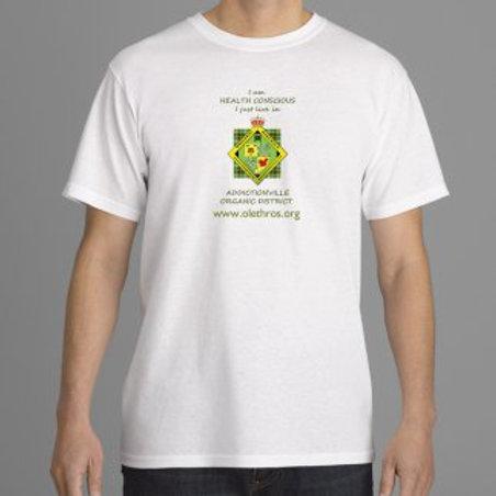 TShirt blanc Health Conscious pour homme