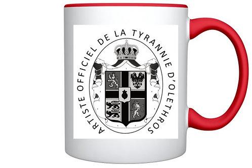Mug d'Artiste Officiel d'Olethros
