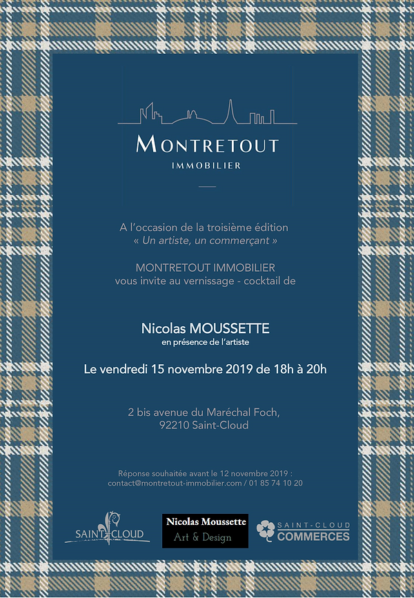 invitation vernissage Montretout Immobil
