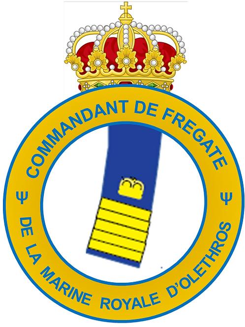 Grade de Commandant de Frégate