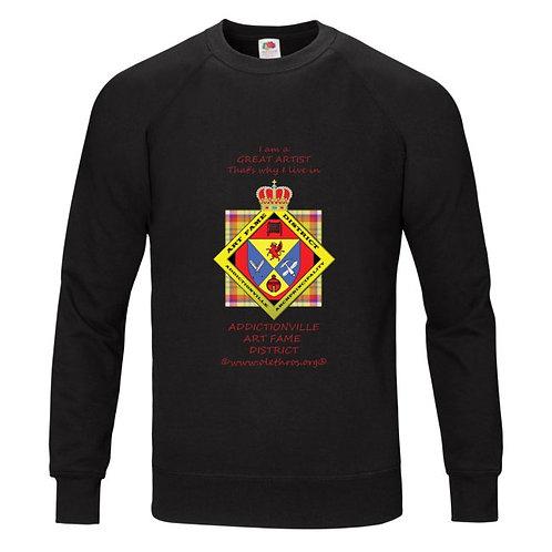 Art Fame District Sweat Shirt noir homme