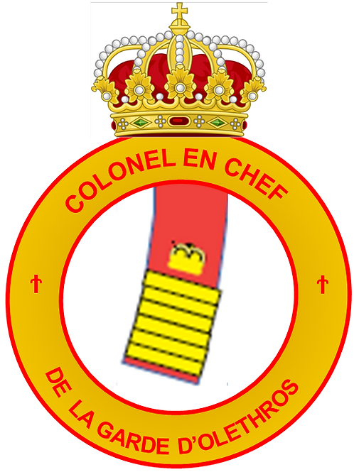 Grade de Colonel-en-Chef des Olethros Guards
