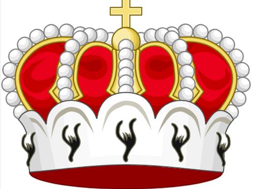 Diplôme armorié fait main d'Archiprince Illustrissime