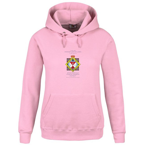 Plastic Surgery District Hoodie rose femme