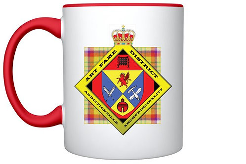 Mug de Citoyen Honoraire du Art Fame District