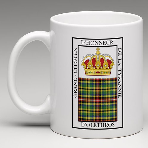 Mug de Grand-Citoyen d'Honneur d'Olethros
