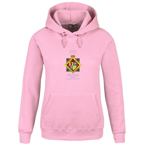 Haute Couture District Hoodie rose femme