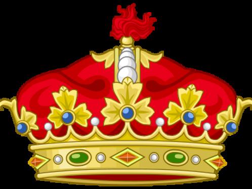 Diplôme armorié fait main de Grand-Duc