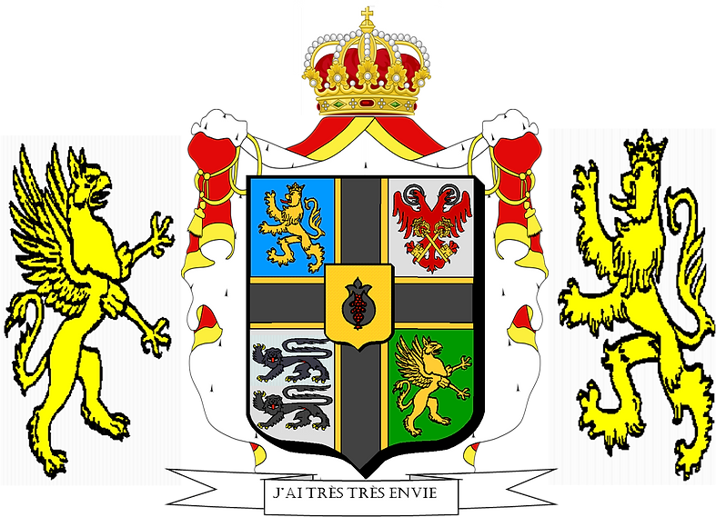 Heraldic achievement Olethros complet.pn
