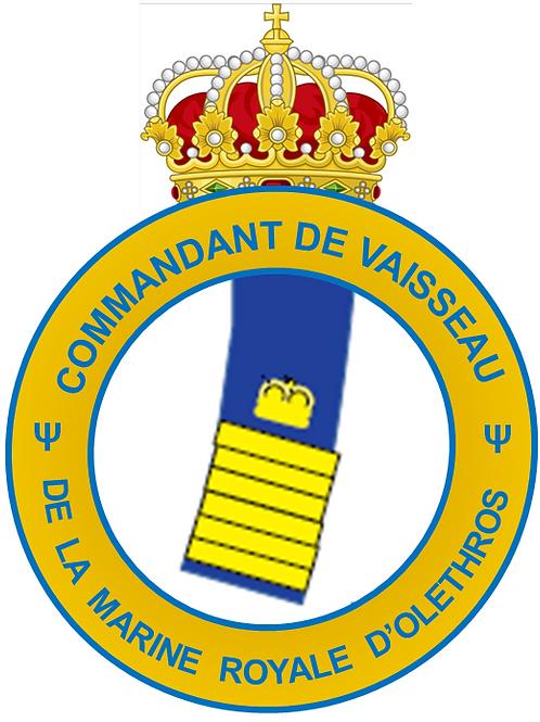 Grade de Commandant de Vaisseau Interarmées
