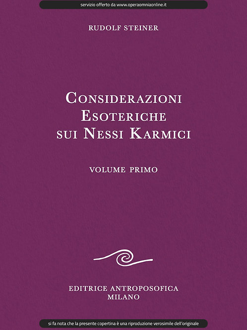 O.O. 235 - Considerazioni Esoteriche sui Nessi Karmici (Volume I)