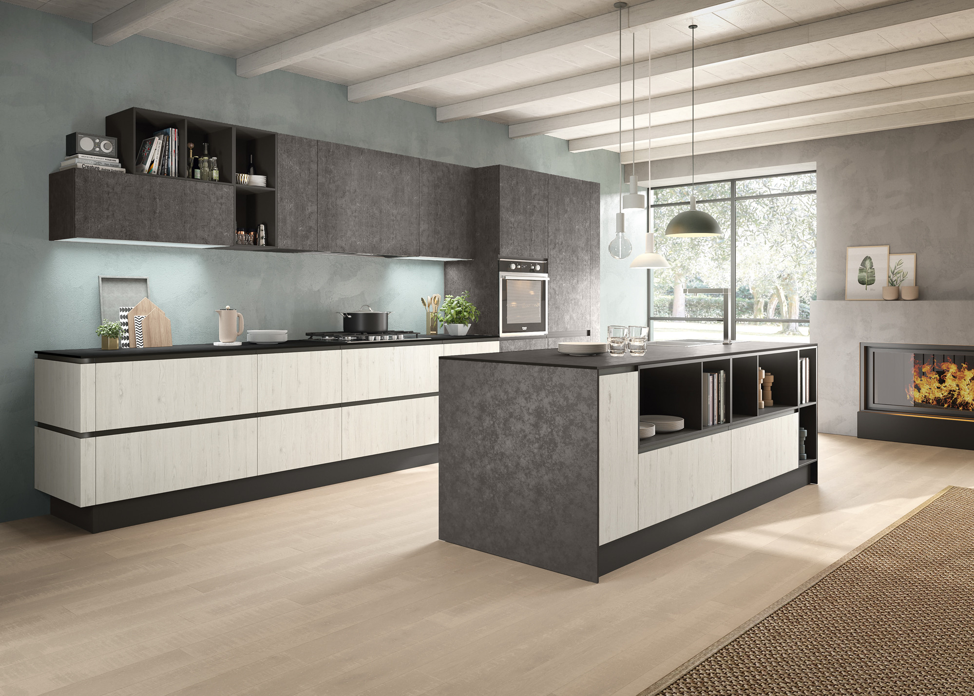 Emozioni D Arredo Arredamento Casa Napoli Concreta Cucine