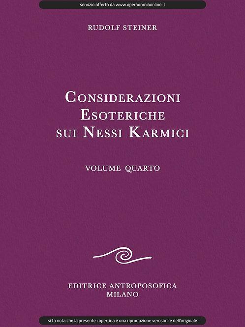 O.O. 238 - Considerazioni Esoteriche sui Nessi Karmici (Volume IV)