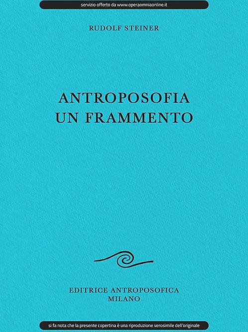 O.O. 45 - Antroposofia, un frammento