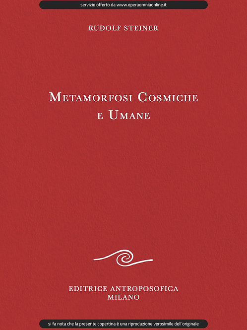 O.O. 175 - Metamorfosi Cosmiche e Umane