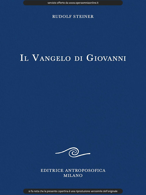 O.O. 103 - Il Vangelo di Giovanni