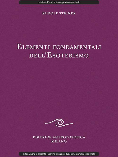 O.O. 93a - Elementi fondamentali dell'Esoterismo